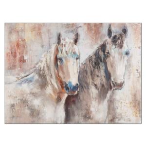 malovaný obraz koní - Horses