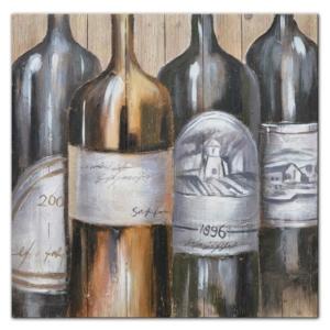 malovaný obraz U vinaře