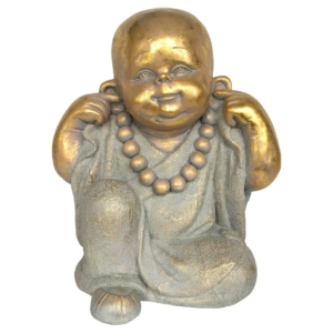 soška sedící buddha