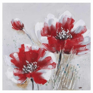 obraz Červené květy I.