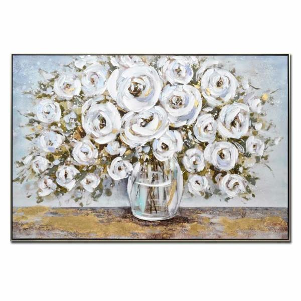 obraz Bílá kytice