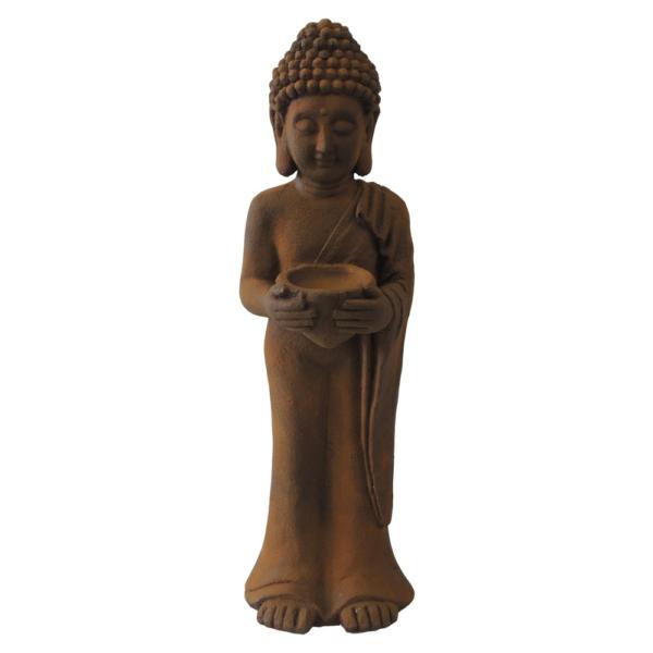 socha stojící buddha