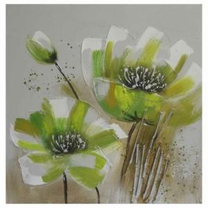 dekorační obraz Green Flower