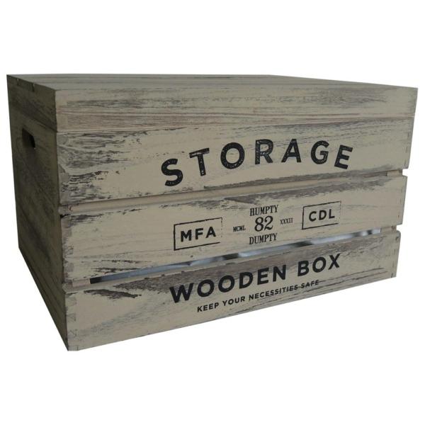 dřevěná krabice Storage