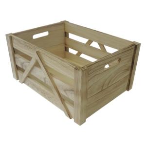 retro dřevěná bedýnka