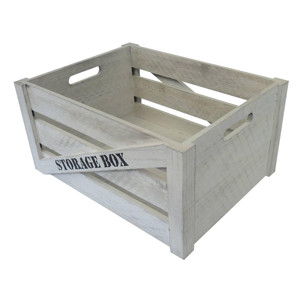 dřevěná bedýnka Storage Box