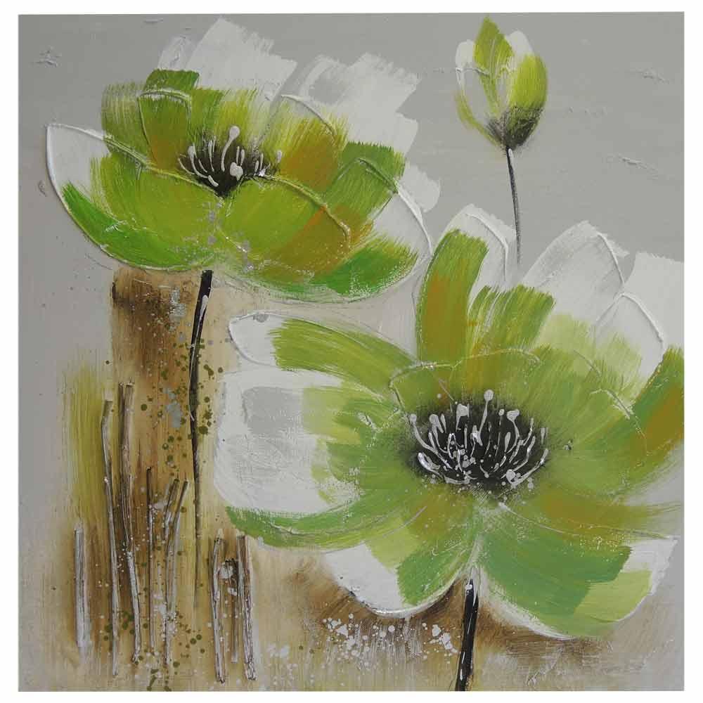 dekorační obraz Green Flower II.