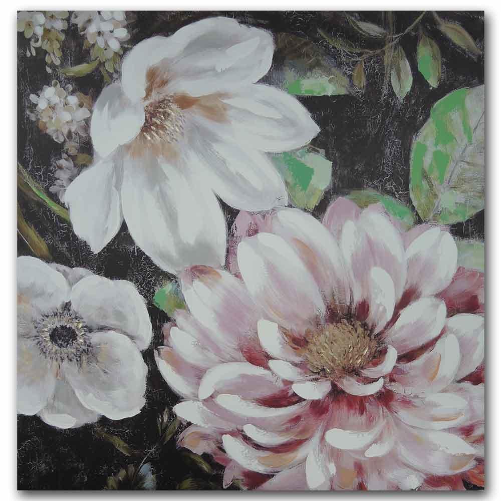 malovaný obraz Květiny