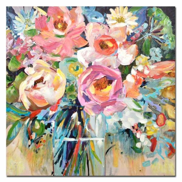 malovaný obraz Kytice