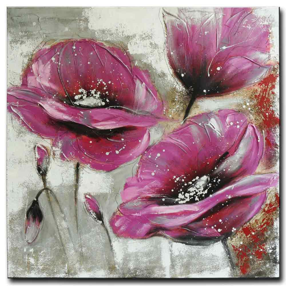 obraz Purpurové květy