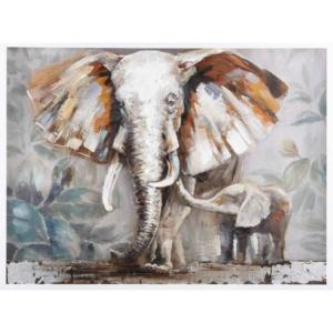 malovaný obraz slona - Elephant