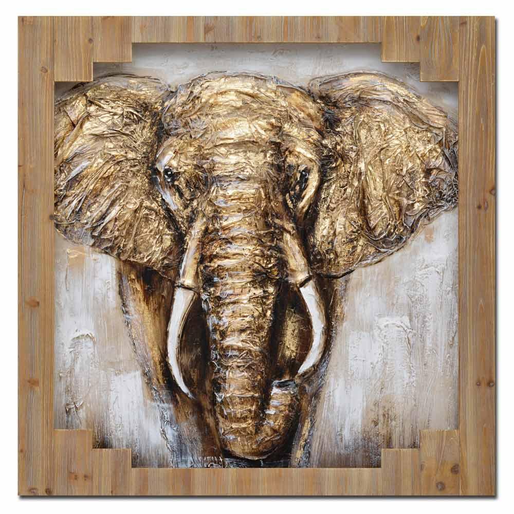 malovaný obraz Elephant