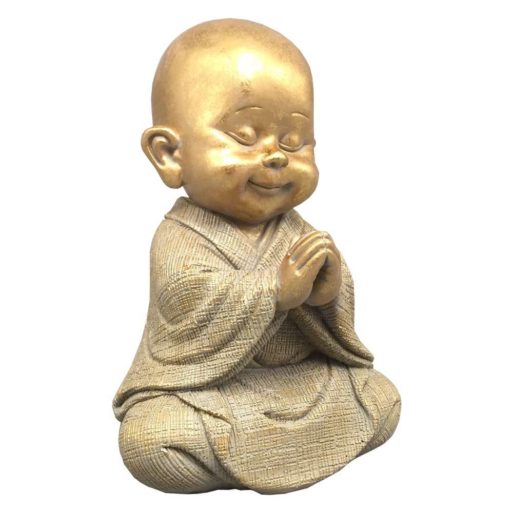 soška buddha jako dítě v tureckém sedu