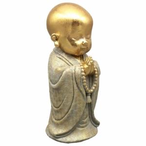 soška buddha - dítě modlící se, 28 cm